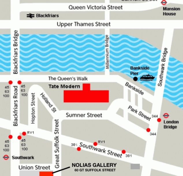 nolias gallery Great Suffolk Street SE1